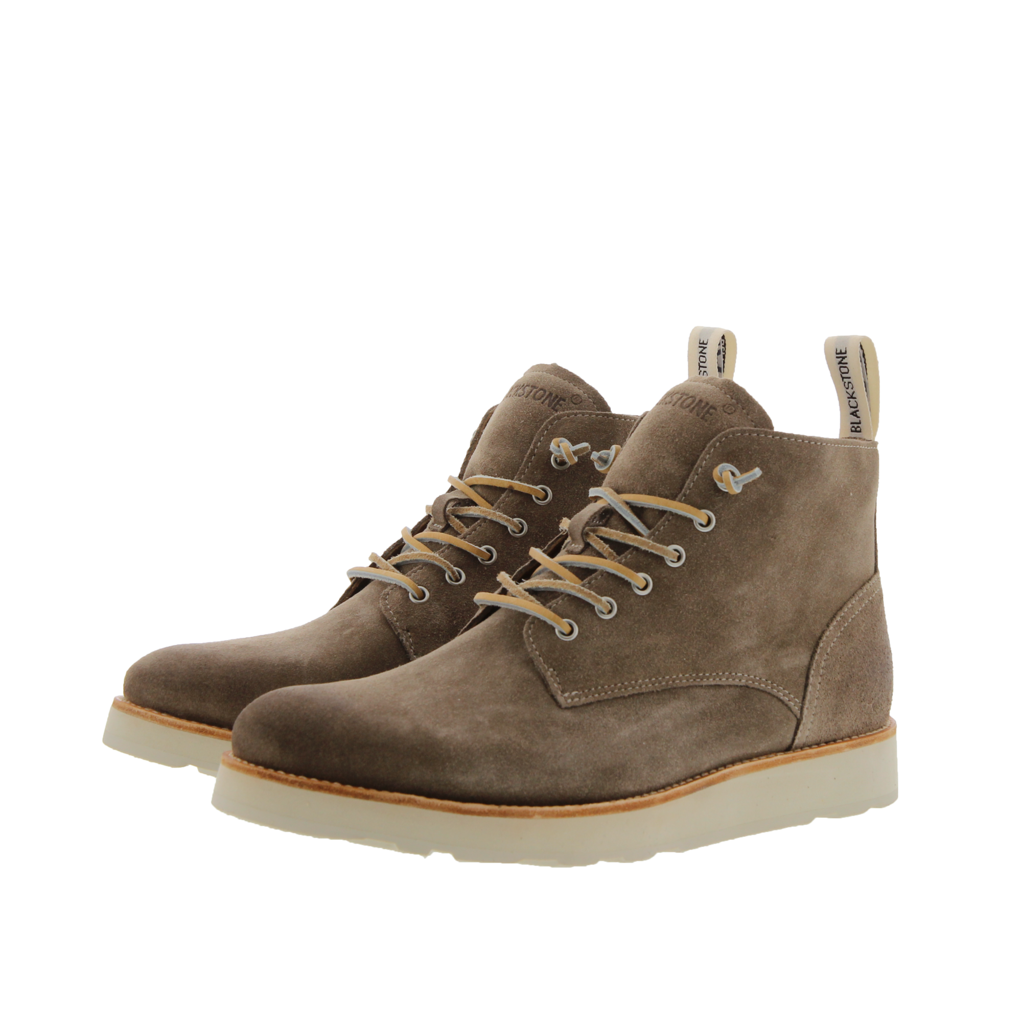 OM53 SHITAKE - MEN'S HIGH TOP SUEDE BOOTS
