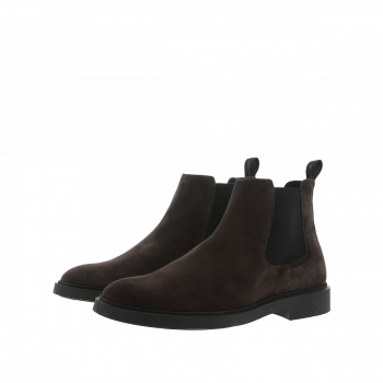 WG81 MULCH - SUEDE CHELSEA BOOTS